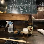 ウミネコ - まずはビールから