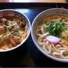 Sanukiudonamagiri - 料理写真:唐揚げ親子丼とうどんセット(730円)