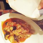 オリエント ターキッシュ - 羊と野菜の壺焼き。
