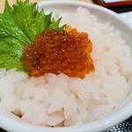 白えび亭 - 白えび刺身丼スペシャル