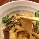 チャ~ボン 多福楼 - 幅広の刀削麺はモッチモチ