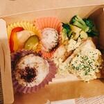 健康レストラン かろり500 - 日替わり主菜のライスボックス
