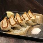立山 - 海老餃子は檸檬と塩で