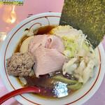 148385935 - 凛々しい特製和牛背脂×煮干中華ソバ