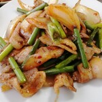 晴々飯店 - これが、リアル回鍋肉。本場四川のは辛いのです。