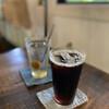 藍風 - ドリンク写真:アイスコーヒー&梅ソーダ