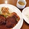 ハローコーヒー - 料理写真:A定食。スープとご飯は、お代わり無料です。