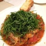 マーノ・マーノ - 料理写真:牡蠣と大葉のパスタ