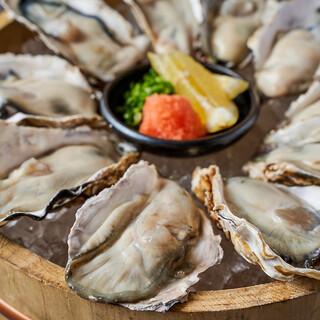 指定取引先の播磨灘産の一年牡蠣を使用