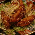 サイゴン・サイゴン - 鶏手羽の揚げもの