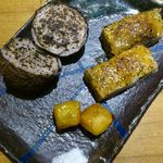 地酒とそば・京風おでん 三間堂 - 焼き里芋と里芋のつくね