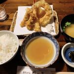 串天ぷら 段々屋 - 竹定食
