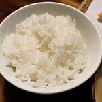 串天ぷら 段々屋 - ご飯