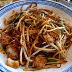 中国ラーメン揚州商人 - 上海焼きそば細麺840円税込。