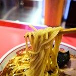 148406852 - 麺はわりと太いタイプでした。食感、香り、喉越し。好みです。