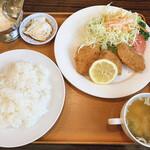 レストランポム - 白身魚フライのセット