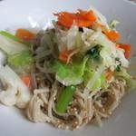 kurkku 3 - 野菜の蕎麦