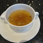 神戸牛洋食アモナ - スープ