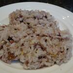 神戸牛洋食アモナ - 十穀米