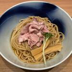 Ramenuxokakicchin - 「会津地鶏の鶏油そば」1100円