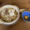 椎名食堂 - 料理写真:鍋焼きうどん 天然カモ