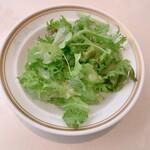 ビストロ ボン・グー・コクブ - ランチコース 2,240円(税込)のサラダ
