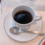 ビストロ ボン・グー・コクブ - セットのホットコーヒー