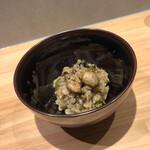 Kitchen g3 - 牡蠣とグリンピースのリゾット