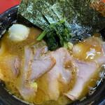 148419941 - 中盛チャーシュー+野菜畑+白玉くずれ+ビール ¥980+60+20+300