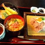 14842429 - さくら麺とゆば丼セット 1500円
