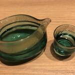 大はし - ドリンク写真:春鹿 純米大吟醸(奈良)1合 1600円