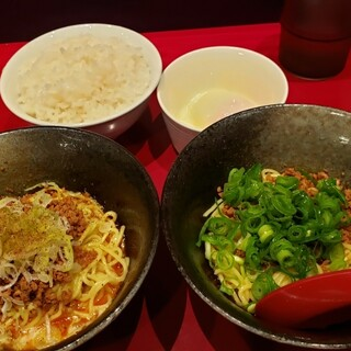 くにまつ+武蔵坊 - 料理写真:くにまつ+武蔵坊セット