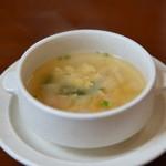 レストランポワーブル - 料理写真:スープ