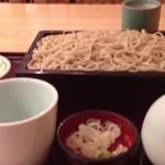 14843936 - さしみ丼と蕎麦のセット