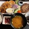 醍醐 - 料理写真:ハンバーグ&チキン南蛮定食 1200円