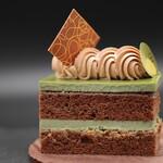 Endroit Palais - 料理写真:抹茶ショコラ。
