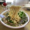 尾道ラーメン 味億 - 料理写真:ねぎチャーシュー麺リフトアップ
