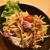 タイ食堂 ありがタイ - 料理写真:ソムタム(750円+税)2021年3月