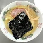 まるたかラーメン - かつお塩ラーメン_750円