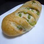 小麦工房ヒラソル - 料理写真:枝豆とベーコンのパン
