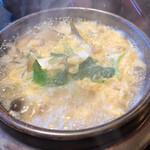鮎の庄 - 鮎雑炊 キノコたっぷり