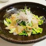 炭味家 - 真鯛のハイファン風サラダ