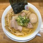 まぐちゃんラーメン - 極!鶏らぁめん(潮)+味付け玉子