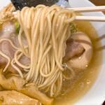 まぐちゃんラーメン - 極!鶏らぁめん(潮)の麺