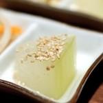 沖縄料理かじまやー - お通し-冬瓜の煮物-