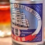 沖縄料理かじまやー - 請福マリンボトル25度  (500円)