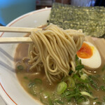 麺dining月乃家 - 豚骨醤油 700円 (リフト)