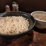 鶏の穴 - つけ麺中盛り830円