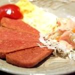沖縄料理かじまやー - ポーク玉子(550円)