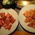焼肉屋 くいどん - どん太カルビ+豚カルビ